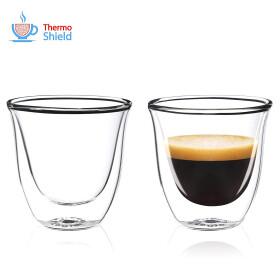 FilterLogic CFL-655B - 2er Set Espresso Gläser