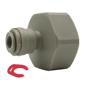 """Adapter 3/4"""" Hahnanschluss auf 1/4"""" (6mm)..."""