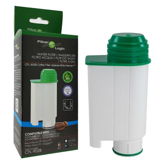 FilterLogic CFL-902B Wasserfilter für Gaggia ersetzt Brita Intenza+