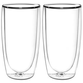 FilterLogic CFL-670B - 2er Set doppelwandige Gläser...
