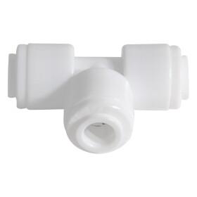 """T-Stück 1/4"""" x 1/4"""" x 1/4"""" für Wasseranschluss von Kühlschränken und Kaffeemaschinen"""
