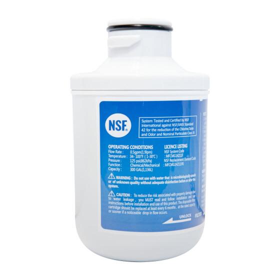 Wasserfilter MFCMG14211FR für Comfee SBSIB 502 NFA+ Side by Side Kühlschrank MFCMG14211FR MFGCMG14211F