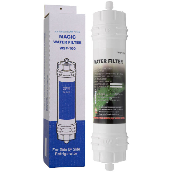 WSF-100 Magic Kühlschrank Wasserfilter mit Schraubverschluss für Samsung Kühlschränke