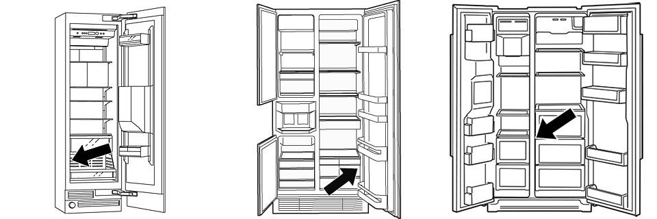 Wo finde ich die E-Nummer bei Bosch Side-By-Side Kühlschränken
